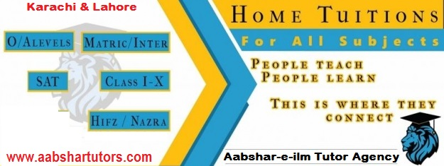 home tutoring, academy, quran tutor, teacher, karachi, dha, zamzama, pechs,